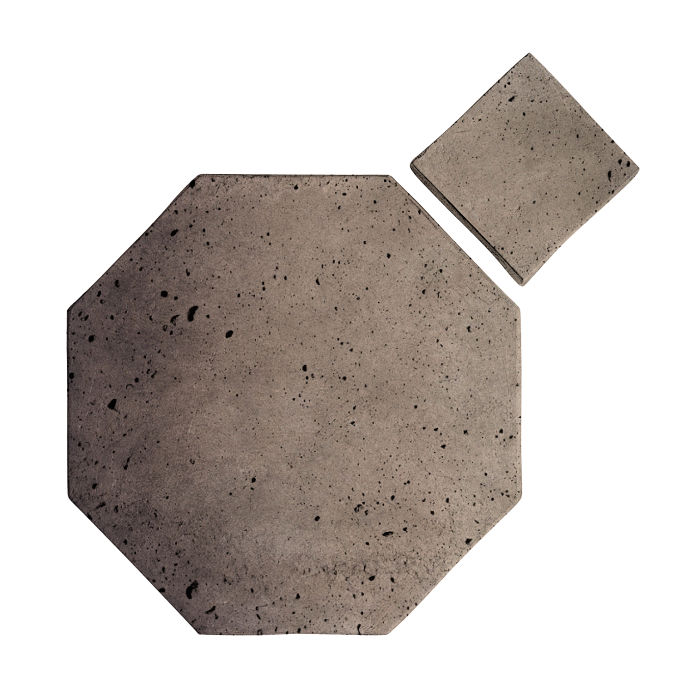 8x8 Artillo Octagon Set Antik Gray Luna