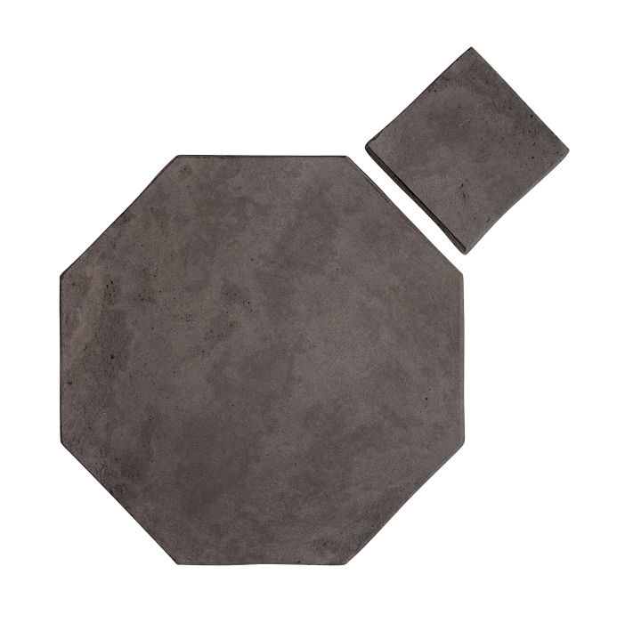 8x8 Artillo Octagon Set Charcoal Limestone