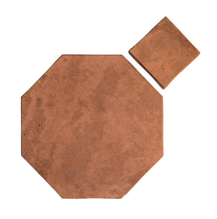 8x8 Artillo Octagon Set Cotto Gold Limestone