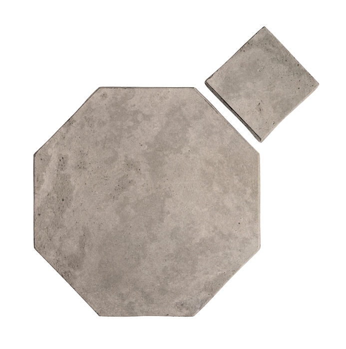 8x8 Artillo Octagon Set Natural Gray Limestone