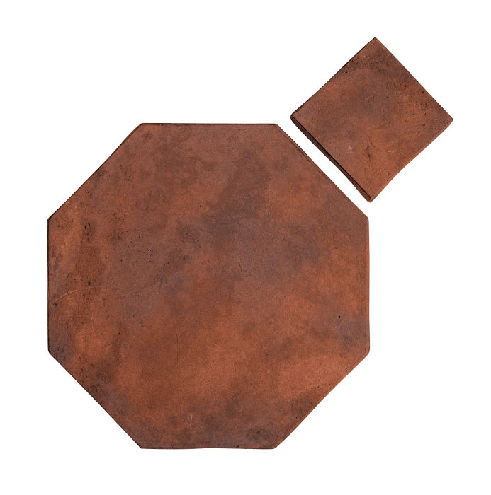 8x8 Artillo Octagon Set Red Flash Limestone