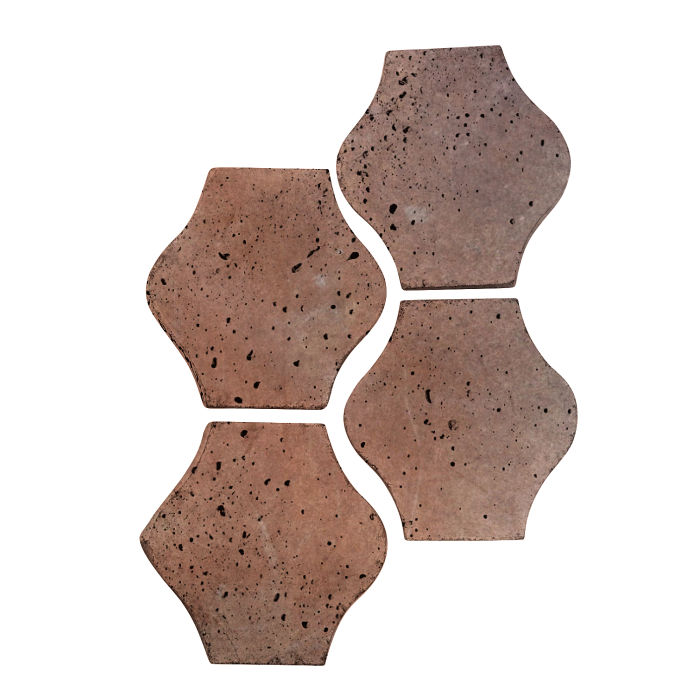 4x4 Mini Pata Grande Beachwood Flash Travertine
