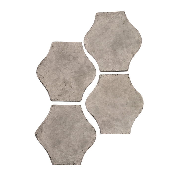 4x4 Mini Pata Grande Natural Gray Limestone