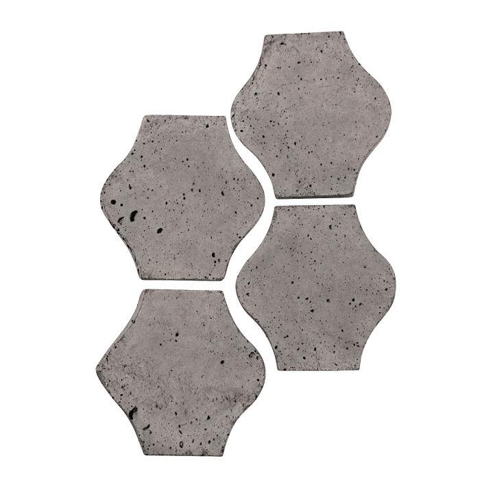 4x4 Mini Pata Grande Sidewalk Gray Luna