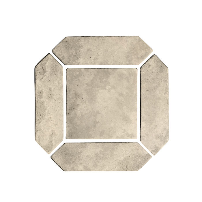 3x11 Artillo Picket Set Early Gray Limestone