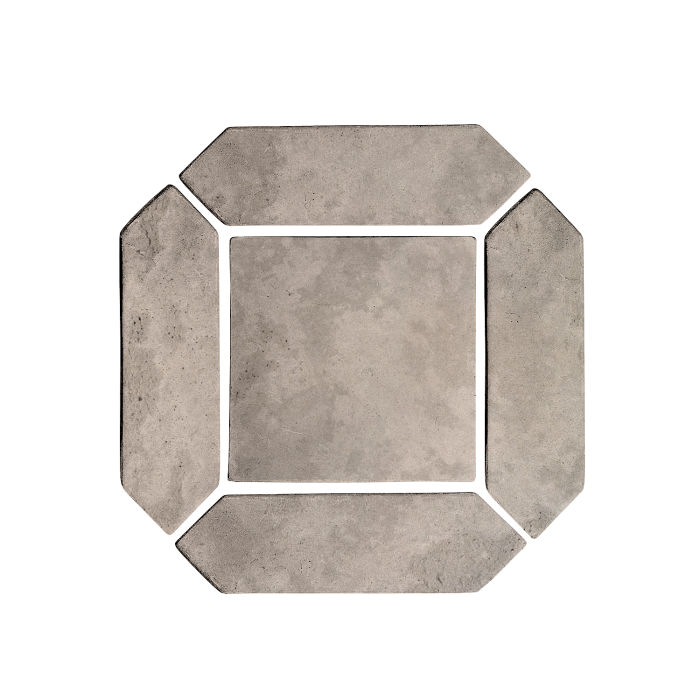 3x11 Artillo Picket Set Natural Gray Limestone