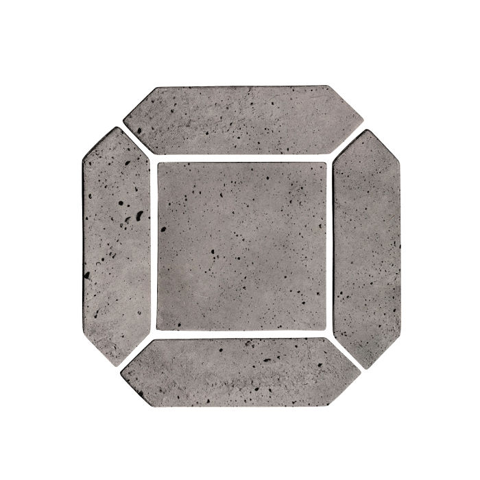 3x11 Artillo Picket Set Sidewalk Gray Luna