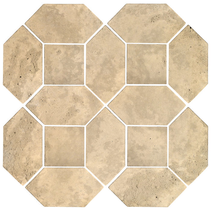 4x8 Artillo Picket Set Bone Limestone