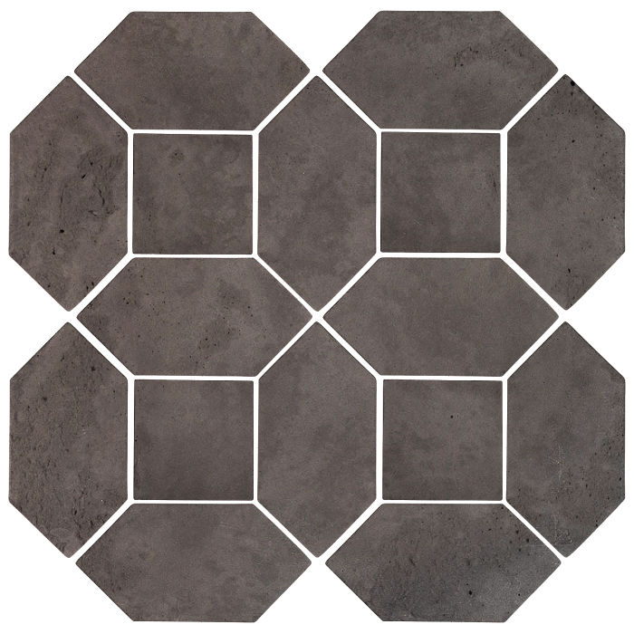 4x8 Artillo Picket Set Charcoal Limestone