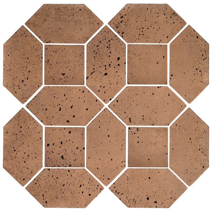 4x8 Artillo Picket Set Flagstone Travertine