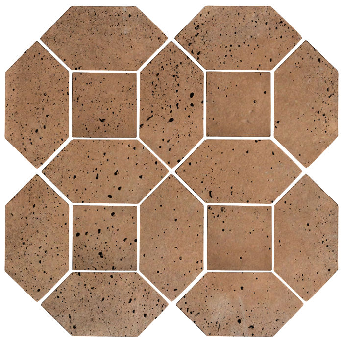 4x8 Artillo Picket Set Gold Travertine
