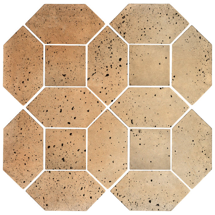4x8 Artillo Picket Set Hacienda Flash Travertine