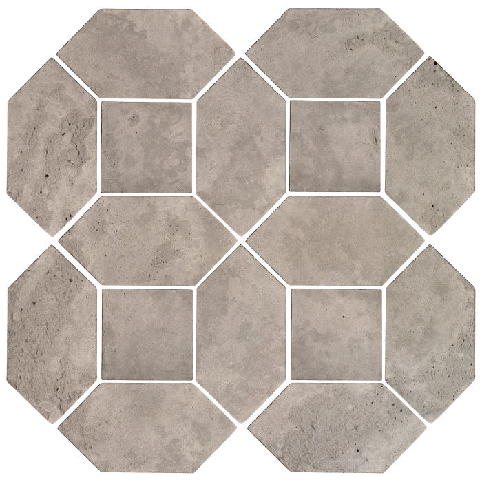 4x8 Artillo Picket Set Natural Gray Limestone