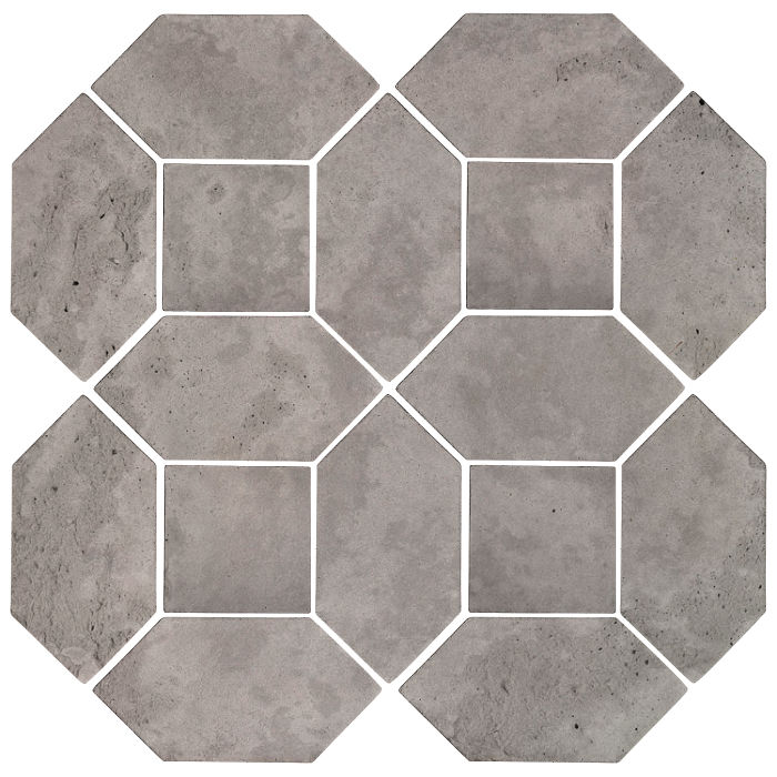 4x8 Artillo Picket Set Sidewalk Gray Limestone