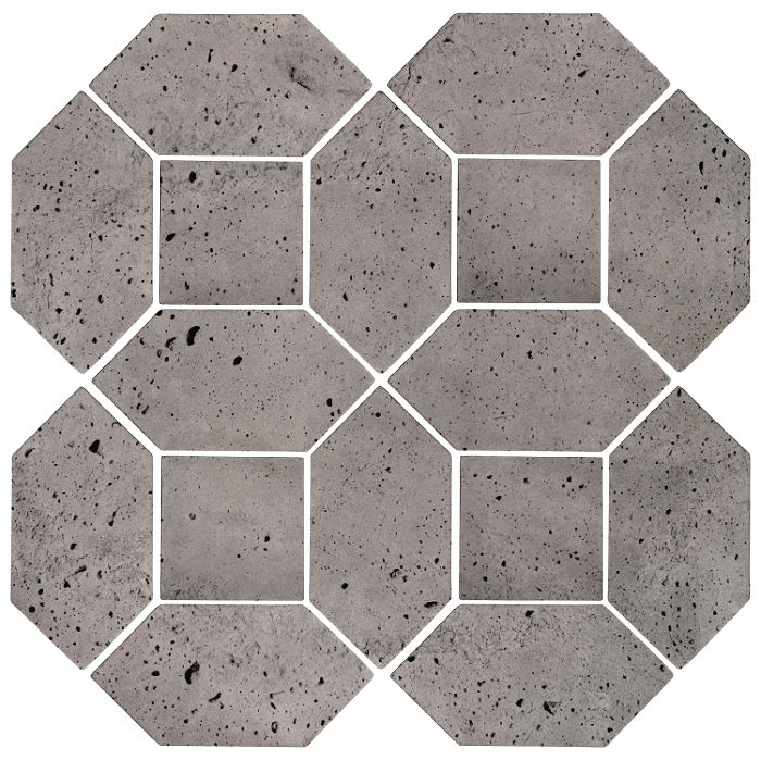 4x8 Artillo Picket Set Sidewalk Gray Luna