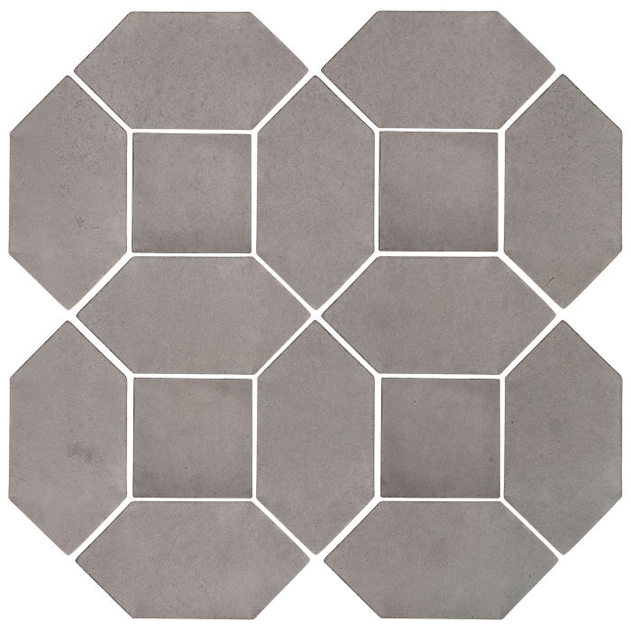 4x8 Artillo Picket Set Sidewalk Gray