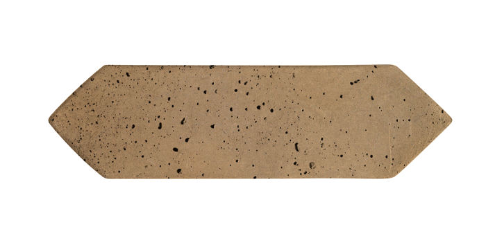 3x11 Picket Caqui Travertine