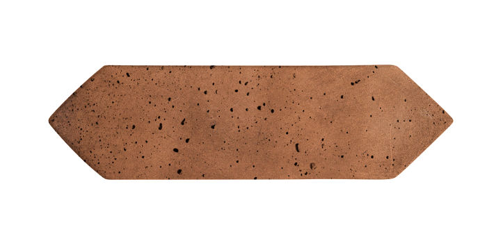 3x11 Picket Cotto Dark Travertine