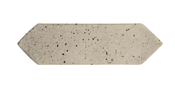 3x11 Picket Early Gray Travertine
