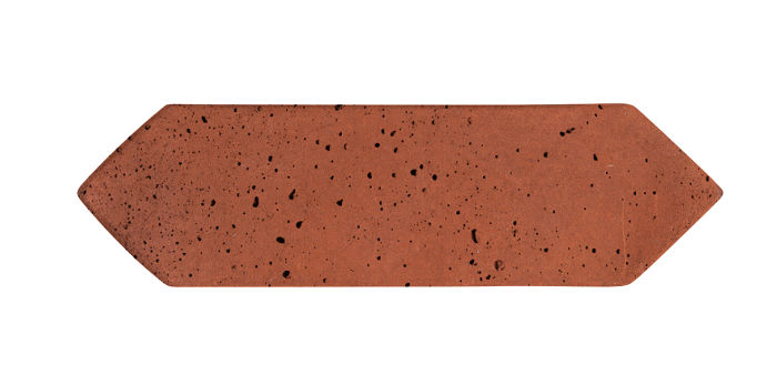3x11 Picket Mission Red Travertine