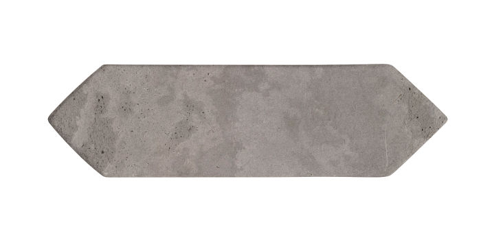 3x11 Picket Sidewalk Gray Limestone