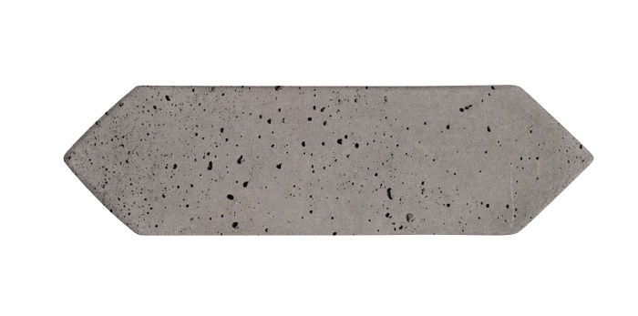3x11 Picket Sidewalk Gray Travertine