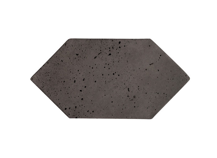4x8 Picket Charcoal Travertine