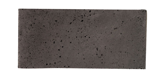 2x4 Artillo Charcoal Travertine