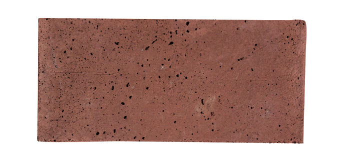 2x4 Artillo Spanish Inn Red Travertine