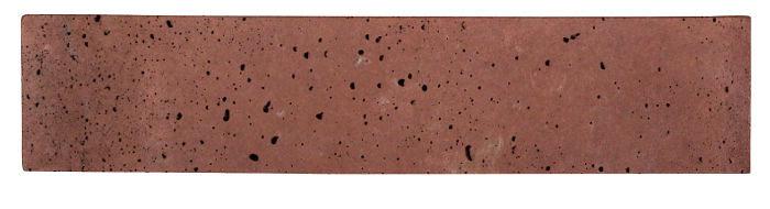 4x16 Artillo Spanish Inn Red Travertine