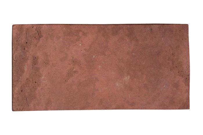 6x12 Artillo Spanish Inn Red Limestone