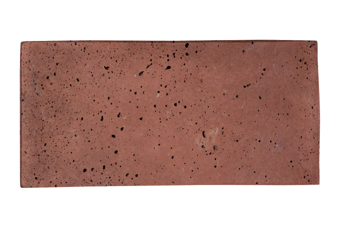 6x12 Artillo Spanish Inn Red Travertine