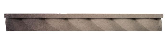 1.75x16 Rope Step Moulding Antik Gray
