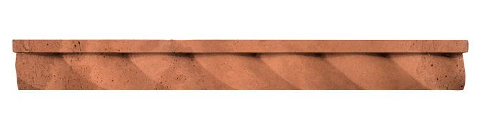 1.75x16 Rope Step Moulding Desert Limestone