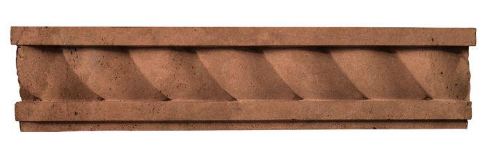 3.5x16 Rope Wall Moulding Desert 1 Limestone