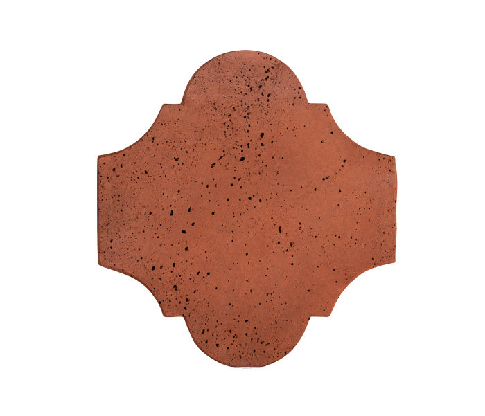 12x13 San Felipe Mission Red Travertine