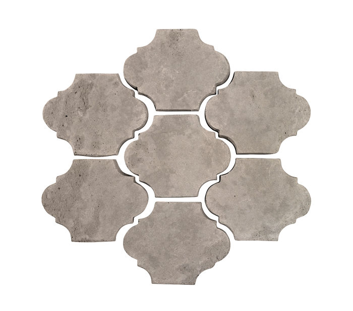 3x4 Mini San Felipe Natural Gray Limestone