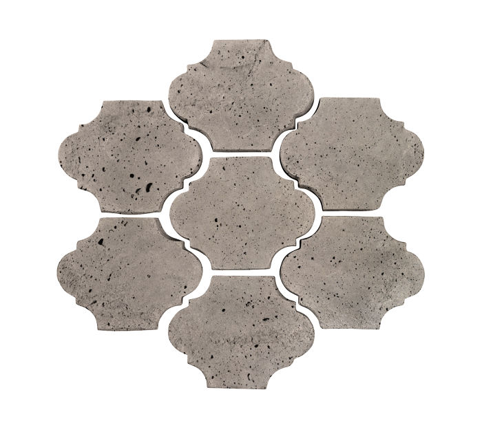 3x4 Mini San Felipe Natural Gray Luna