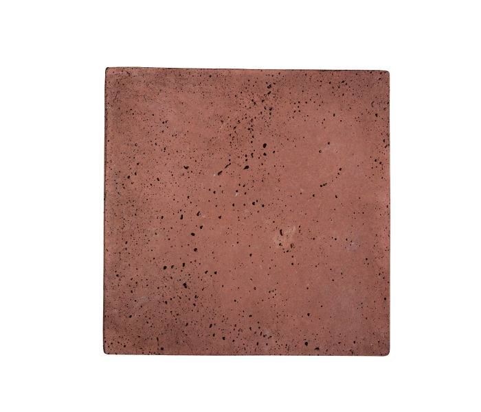 16x16 Artillo Spanish Inn Red Travertine