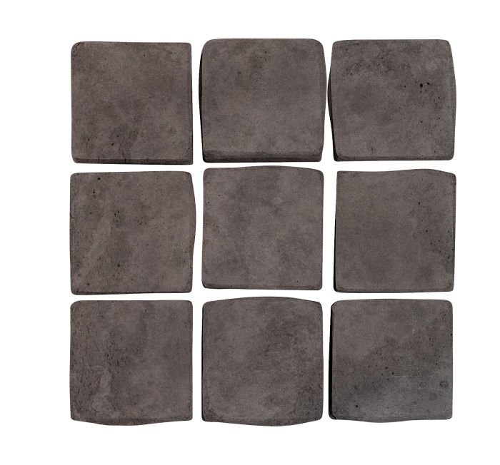 2x2 Artillo Charcoal Limestone