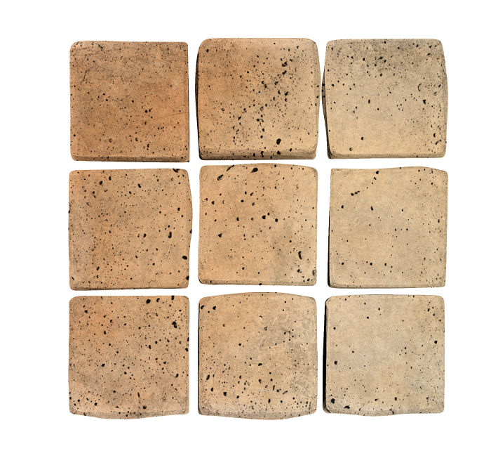 2x2 Artillo Hacienda Flash Travertine