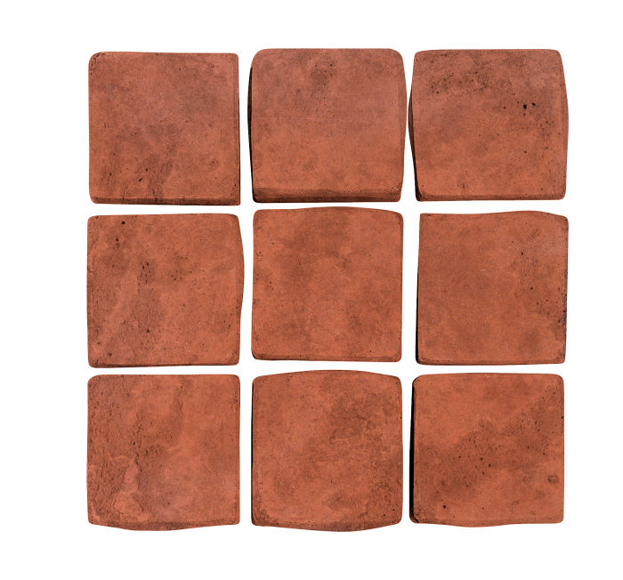 2x2 Artillo Mission Red Limestone