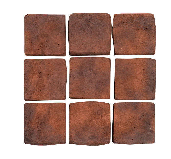 2x2 Artillo Red Flash Limestone