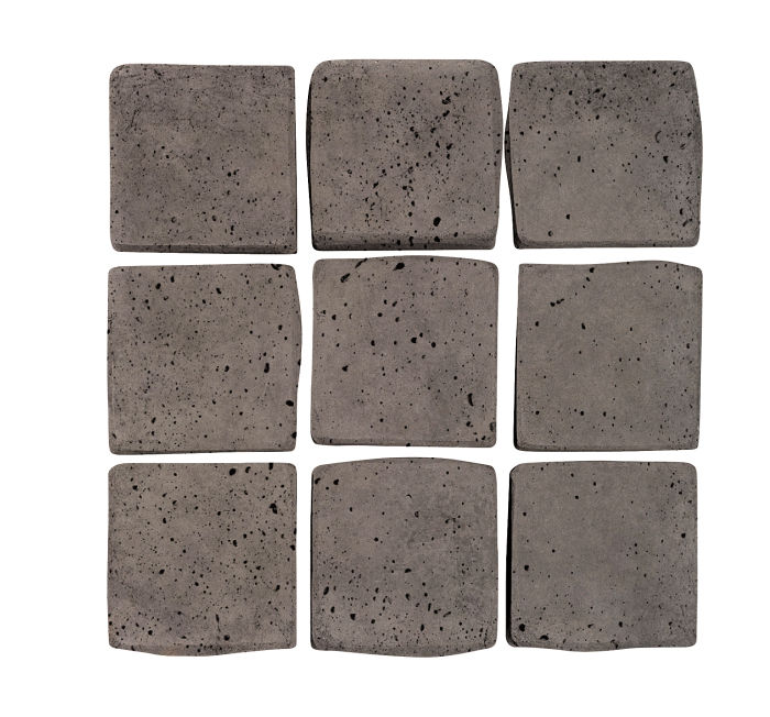 2x2 Artillo Smoke Travertine
