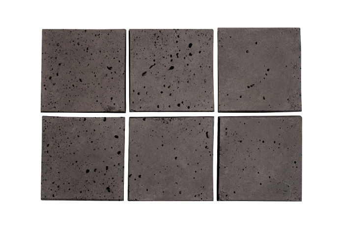 3.5x3.5 Artillo Charcoal Travertine