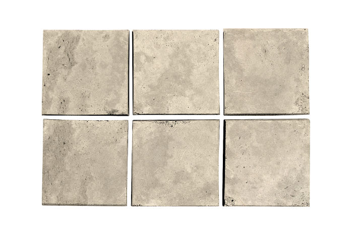 3.5x3.5 Artillo Early Gray Limestone