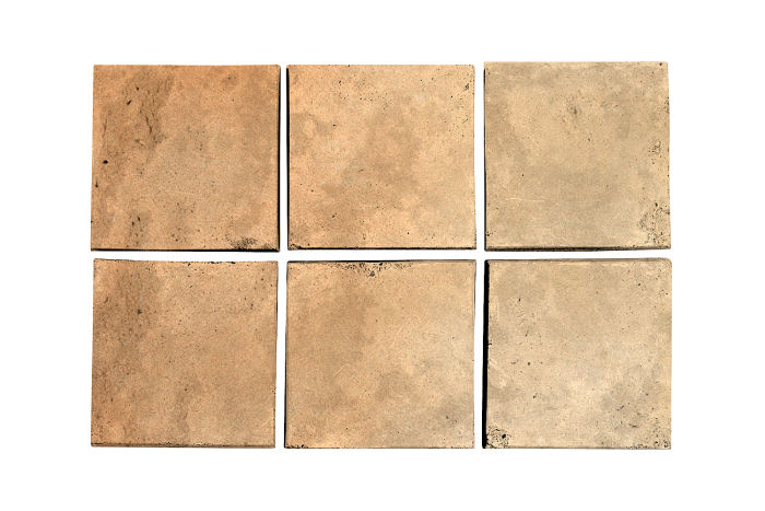 3.5x3.5 Artillo Hacienda Flash Limestone