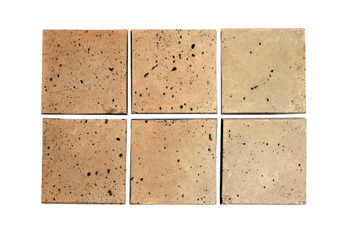 3.5x3.5 Artillo Hacienda Flash Travertine