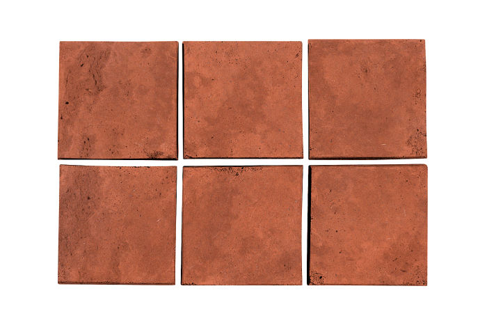3.5x3.5 Artillo Mission Red Limestone