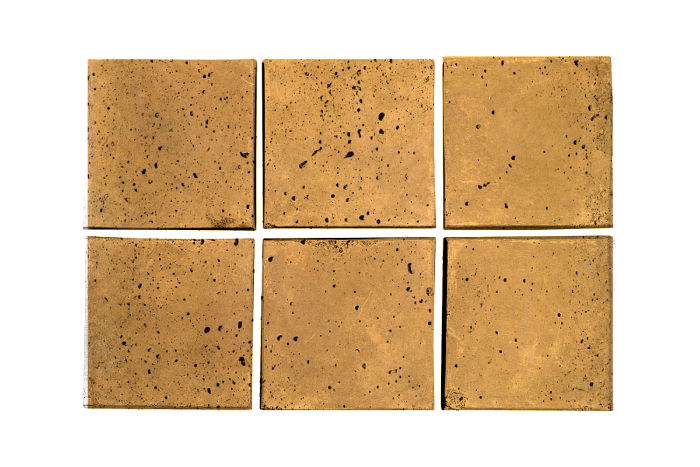 3x3 Artillo Buff Travertine